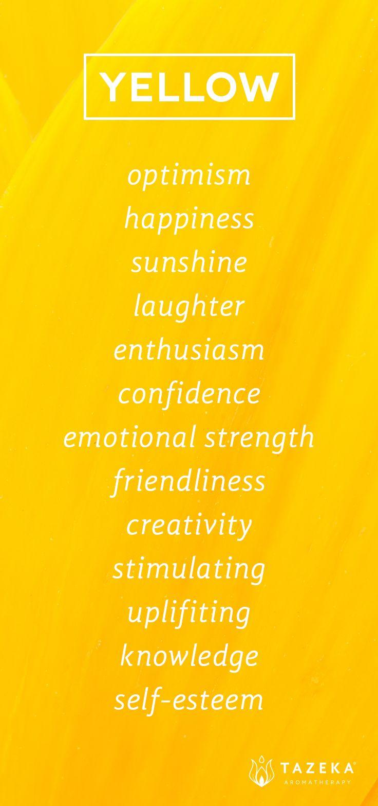 Mariage - Color Psychology: Yellow