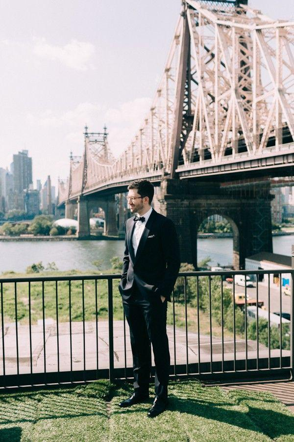 Свадьба - This Industrial NYC Wedding At The Foundry Gets Modern Romance So Right
