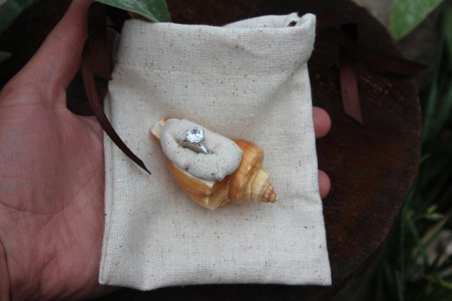 Mariage - Cotton Drawstring Gift Bag, Wedding Favor Bag, Rustic Ring Box, Proposal Ring Box, Engagement Ring Box, Wedding Gift Bag, Anniversary Gift