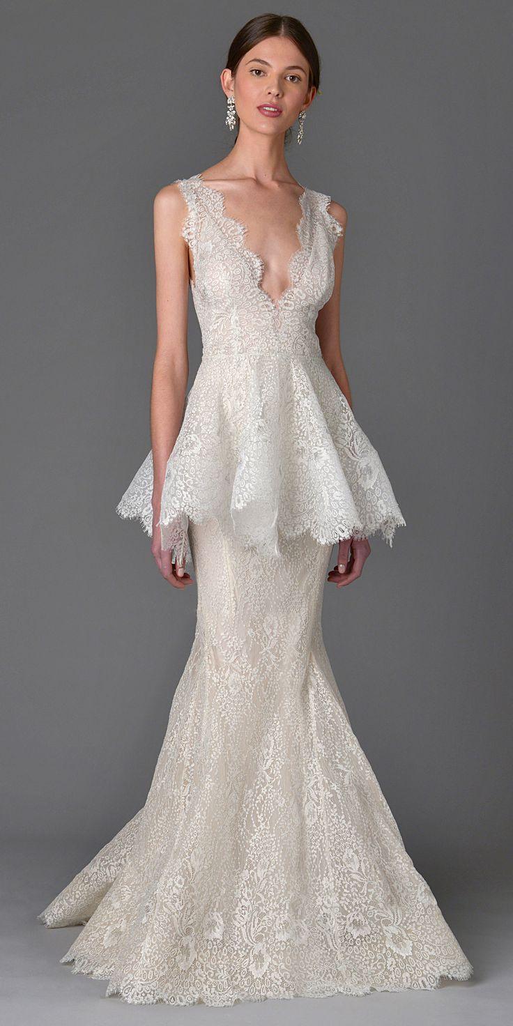 زفاف - The Prettiest Spring 2017 Wedding Dresses From Bridal Fashion Week