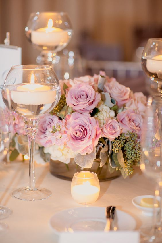 40 chic romantic wedding ideas using candles 2557542 weddbook 40 chic romantic wedding ideas using candles junglespirit Gallery