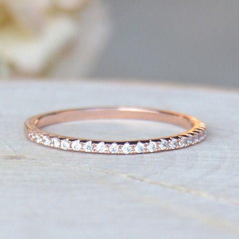 Jewelry Eternity Ring Rose Gold 2557882 Weddbook