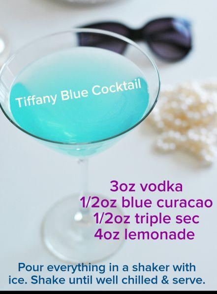 Свадьба - Cocktail & Party Ideas For Breakfast At Tiffany's Themed Shower