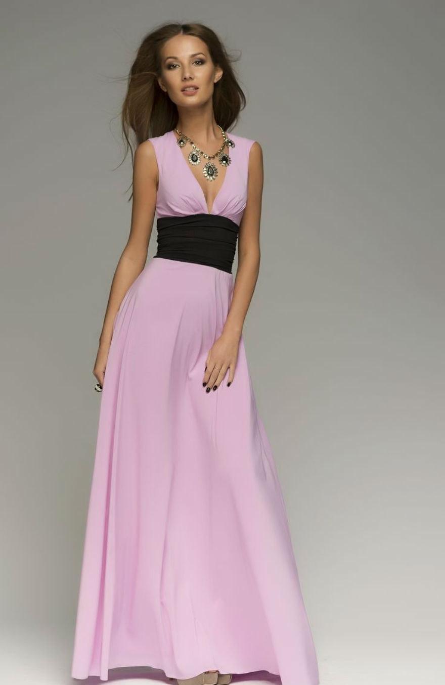 Wedding - Sale!Light Pink Maxi Dress Chiffon ,Women's Crossover  Evening Long Dress