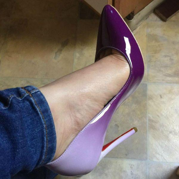 Свадьба - Pointed Toe Party Stiletto Pumps