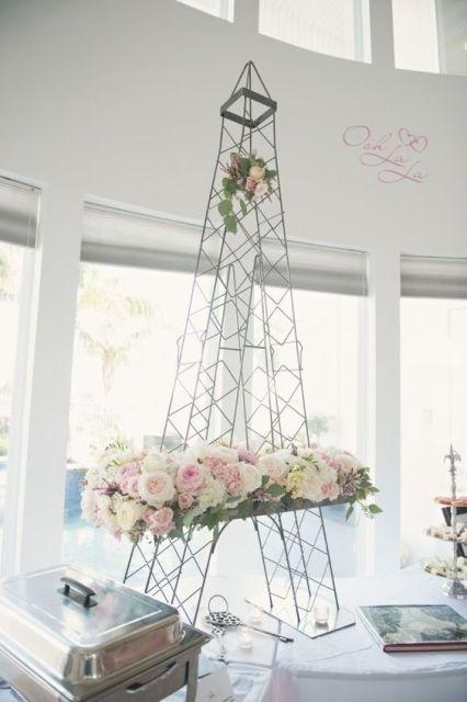 22 Chic Parisian Themed Bridal Shower Ideas Crazyforus 2558053 Weddbook