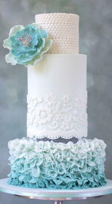 Wedding - ♥ Cakes Beautiful Cake Inspiration For Many Occasions ♨