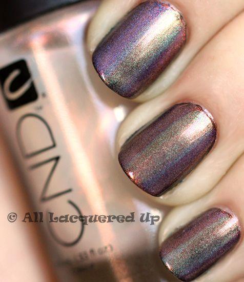 "زفاف - Creative Use Of Effects - The CND ""Mood Ring"" Manicure"