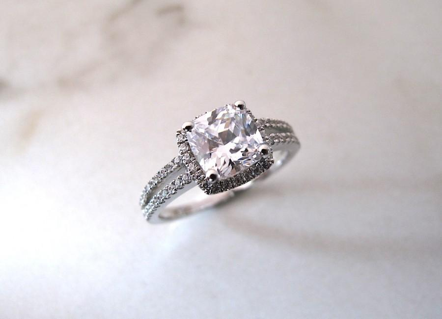 زفاف - AmourJewellery - Fine Handcrafted Engagement Ring; Style RB0032; 14K Gold
