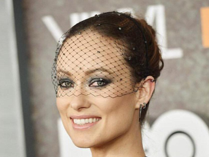 Black Headband Veil Diamante Crystals Birdcage Voilette Masquerade Ball Bridal Headpiece Bachelorette Gatsby Fascinator