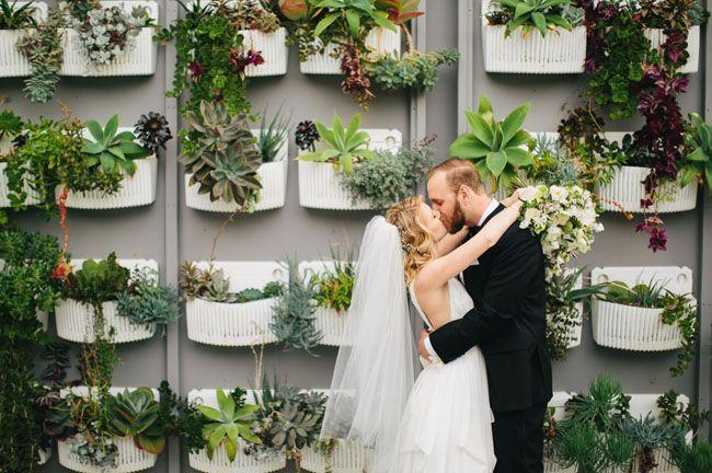 زفاف - Modern-Organic Wedding At The Colony House: Kristina   Oliver