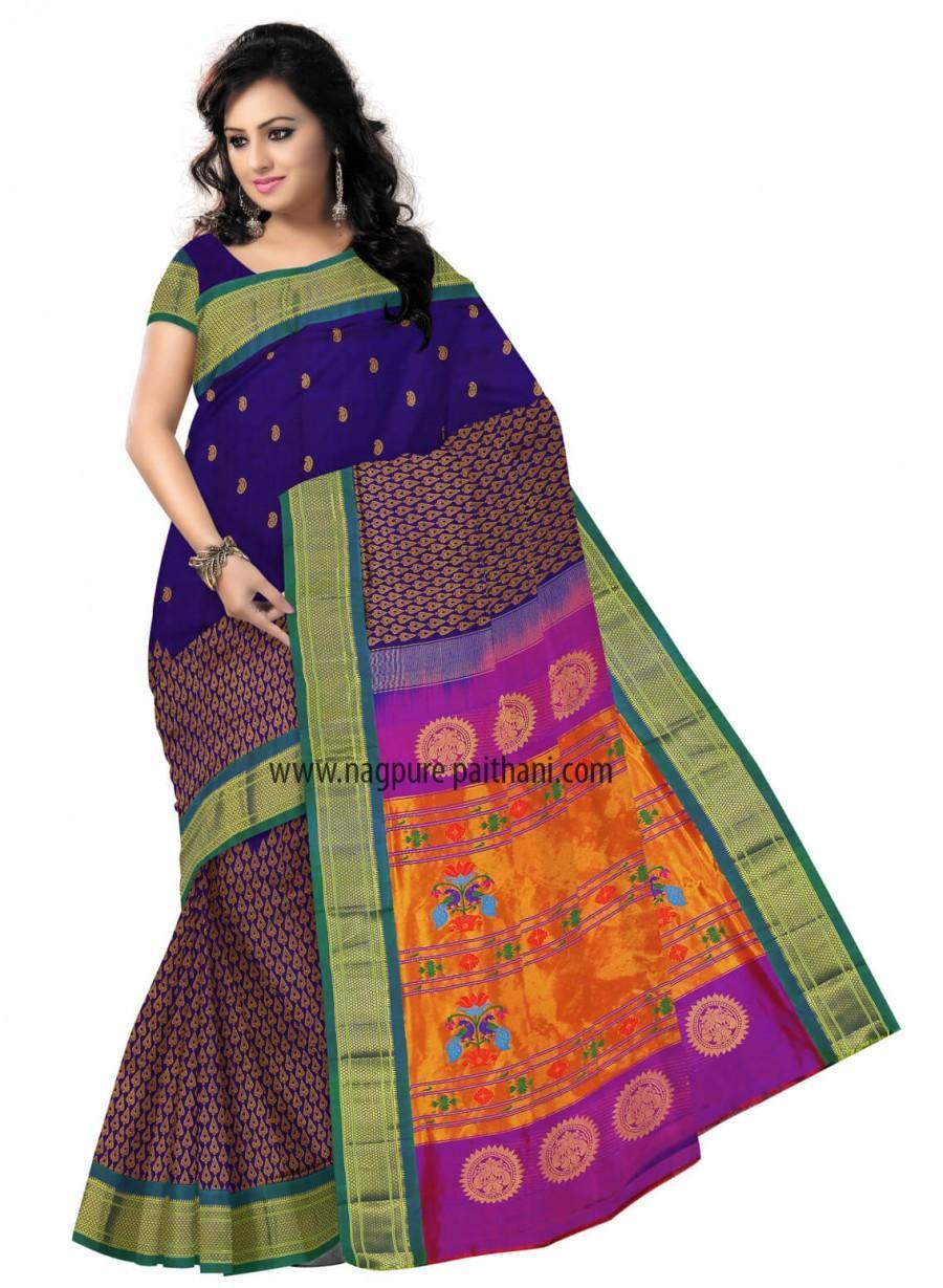 زفاف - Buy paithani sarees online Mumbai