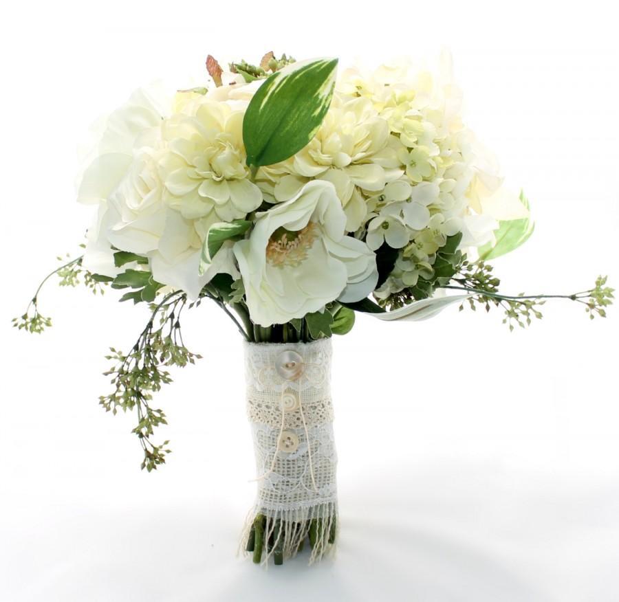 Mariage - SALE Ivory Garden Bouquet