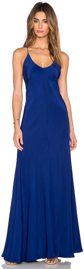 Свадьба - Amanda Uprichard X Back Maxi Dress