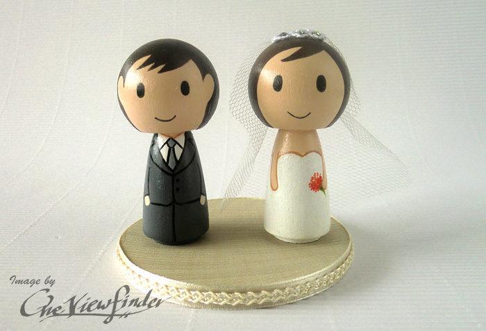 Свадьба - 2.5 inches Customise Wedding Cake Topper