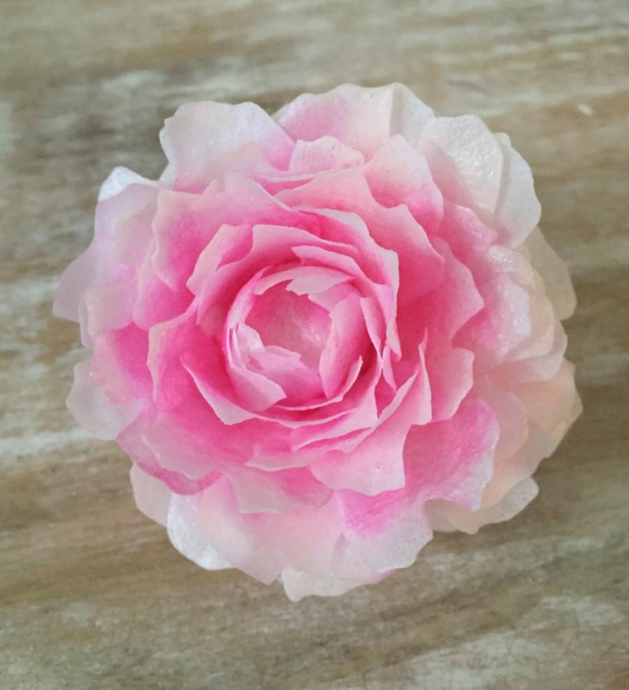 Edible Peonies Wafer Paper Flowers For Cakes Bomb Style