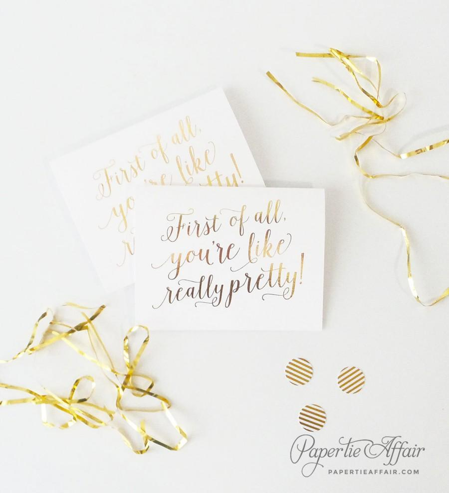Cute Bridesmaid Proposal, Will You Be My Bridesmaid Cards