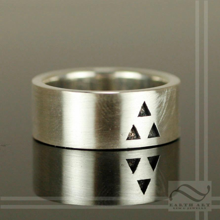 Mariage - It's Dangerous to Go Alone - Triforce Wedding Band