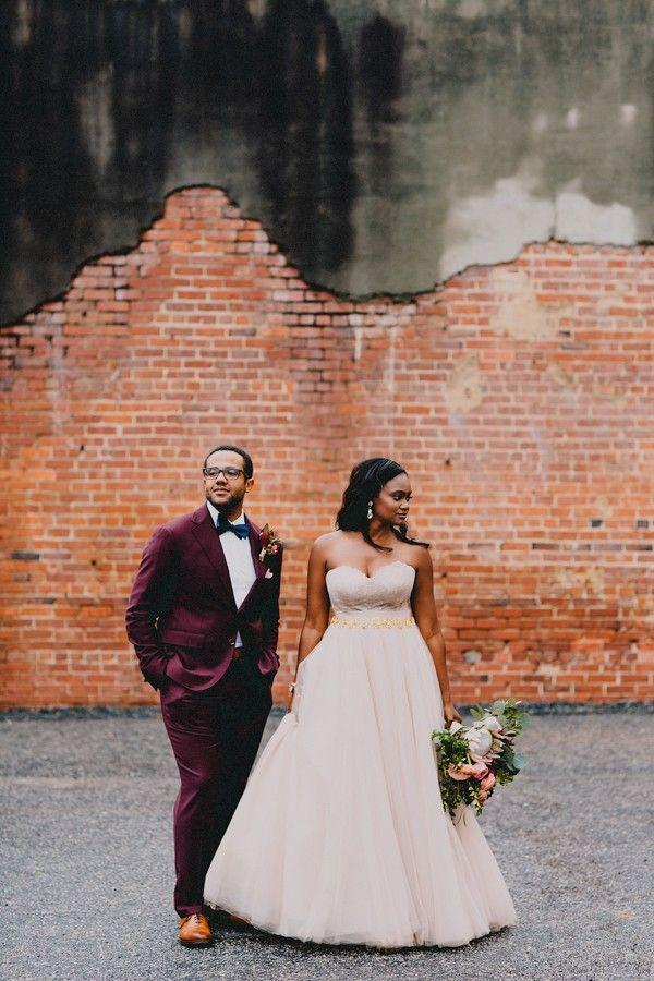 Mariage - This Raleigh Wedding At The Bridge Club Wows With Killer Bride And Groom Style