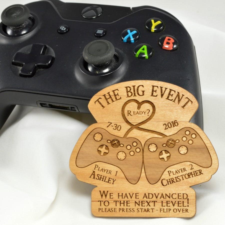 زفاف - Gamer and Geek Save the Date Magnets