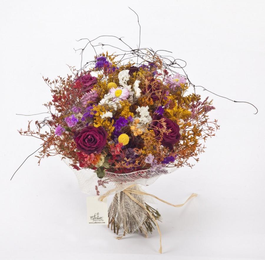 Свадьба - Dried flowers bouquet