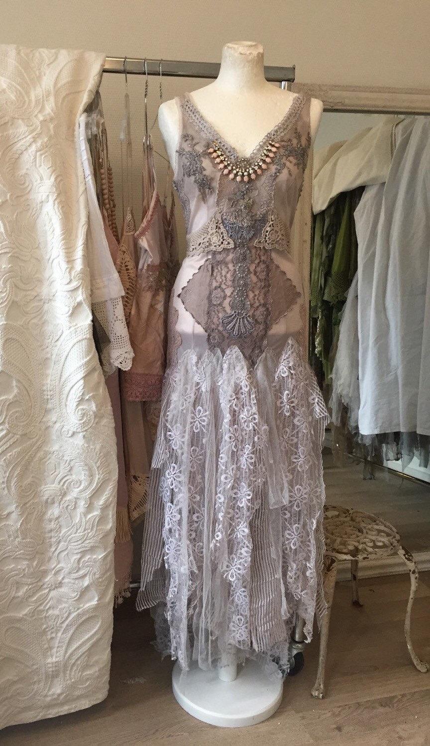 Alternative Wedding Dresses,lavender Wedding Dress,barefoot Beach ...
