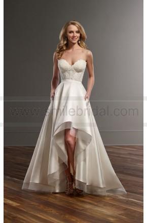 Nozze - Martina Liana Lace Corset And High-Low Skirt Wedding Separates Style Carmen   Sia