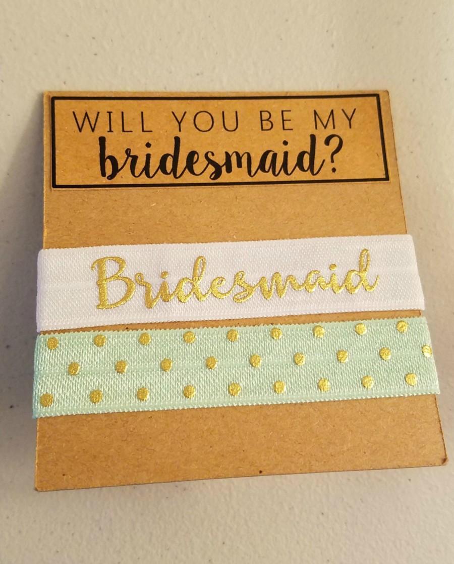Свадьба - Bridesmaid Hair Ties