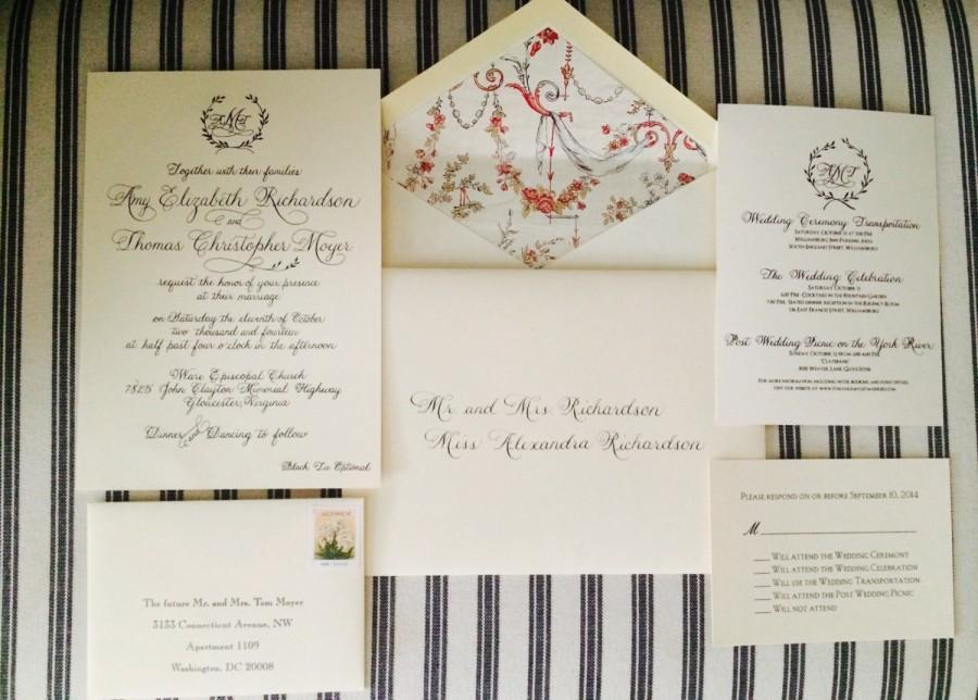 Mariage - Wedding invitation printing services