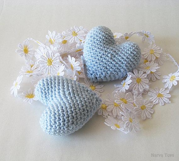 Crochet Simple Wedding Cake Topper