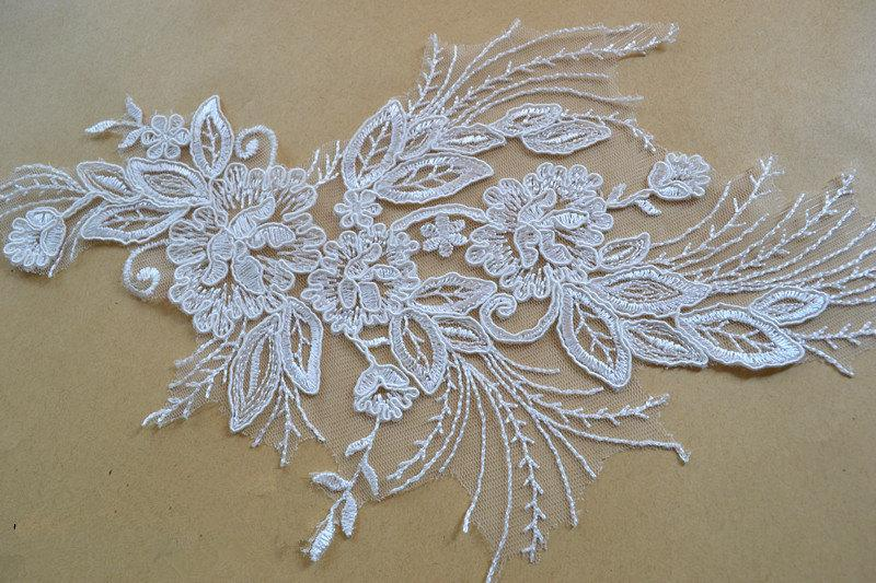 Lace Appliquetrim Wedding Lace Applique Bridal Lace