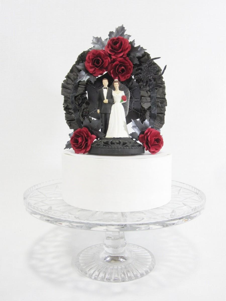 Decor Gothic Wedding Cake Topper 2560465 Weddbook