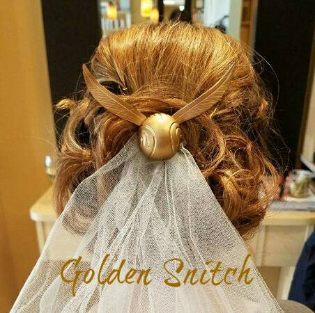 Mariage - Limited Edition Harry Potter Golden Snitch Hair Comb