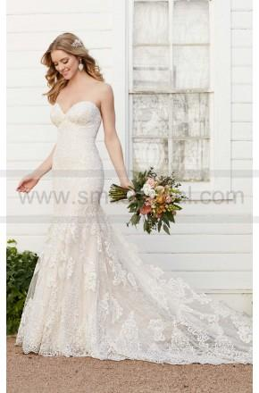 Mariage - Martina Liana Strapless Fit And Flare Wedding Dress Style 803