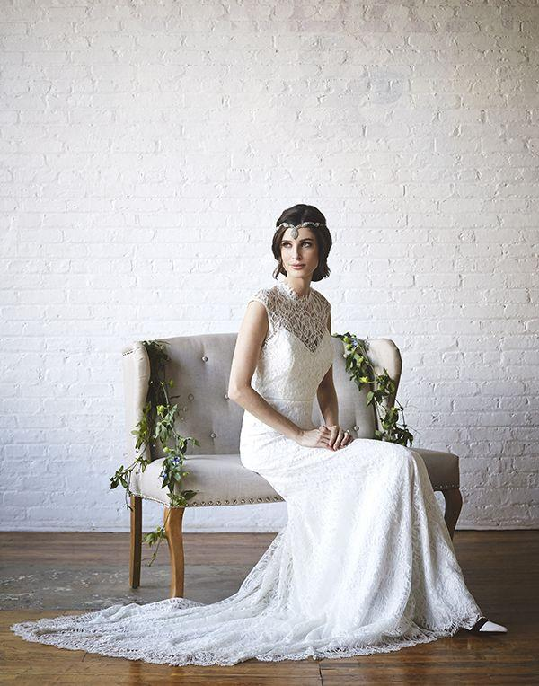 Wedding - Urban Bridal Styled Shoot Where Vintage Meets Modern