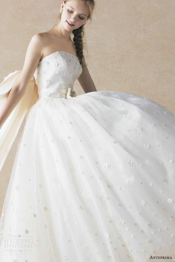 Mariage - 〔デザイン・モチーフ別*〕アンテプリマの純白ウエディングドレスにきゅん♡