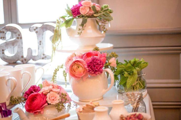 Garden Tea Party Bridal Wedding Shower Ideas