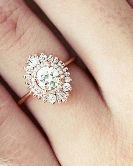 Mariage - 10 Of The Prettiest Engagement Rings On Pinterest - Weddings Illustrated