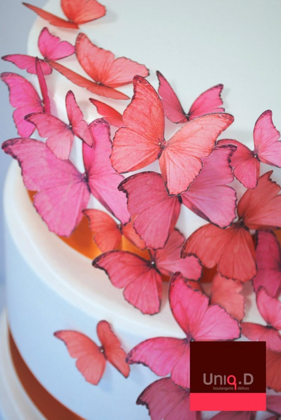 New BUY 40 Get 5 FRE Edible Butterflies - Wedding Favors - Edible ...