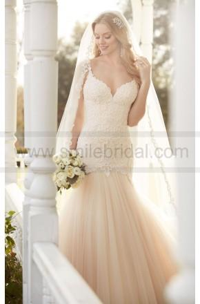 Свадьба - Martina Liana Fit And Flare Wedding Dress With Lace Bodice Style 820