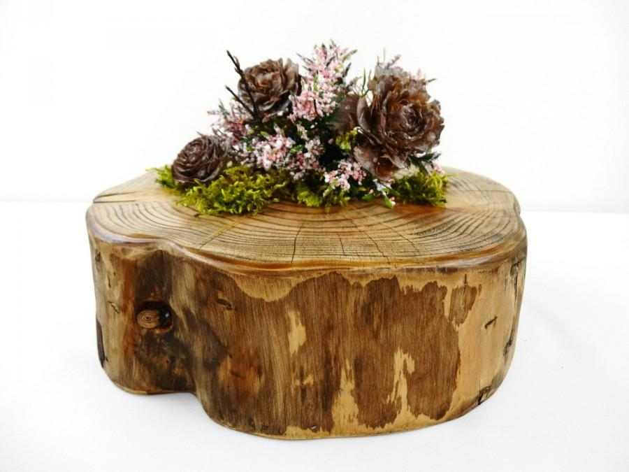 8 5 9 5 rustic wood slab charger wood slice for Tree trunk slice ideas