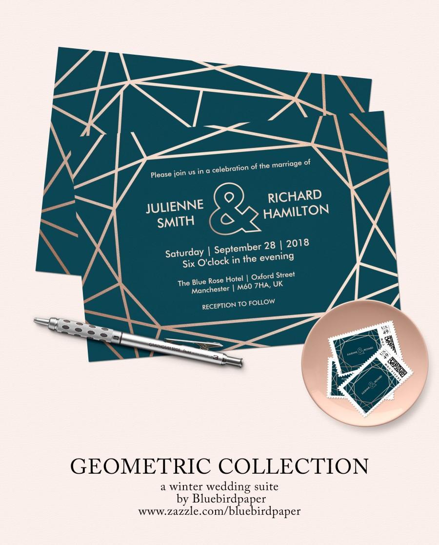 زفاف - Modern Geometric Collection
