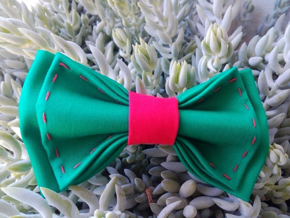 Wedding - christmas green bow tie red bowtie holiday photos tie baby boys first christmas todler xmas necktie kids bowties christmas photo prop bowtie