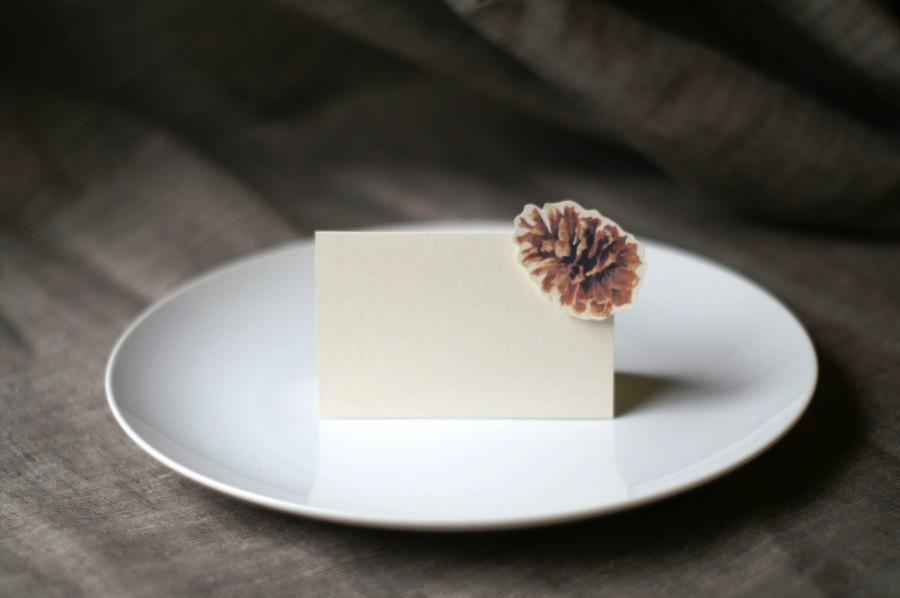 Mariage - PinePCone Place Card - Gift Card - Table Number Card - Menu Card -weddings events