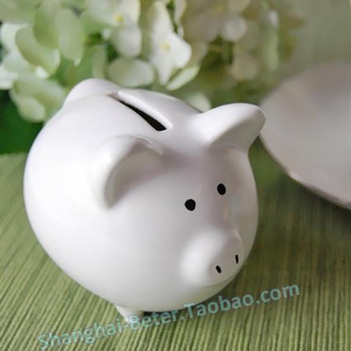 Wedding - Ceramic Mini-Piggy Bank kindergarten Party Souvenirs BETER-TC018...