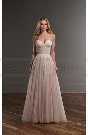 Martina Liana Sweetheart Corset Tulle Skirt Wedding