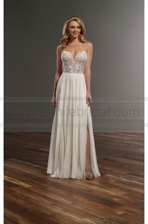 Mariage - Martina Liana Romantic Illusion Lace Wedding Separates Style Bryce   Shae