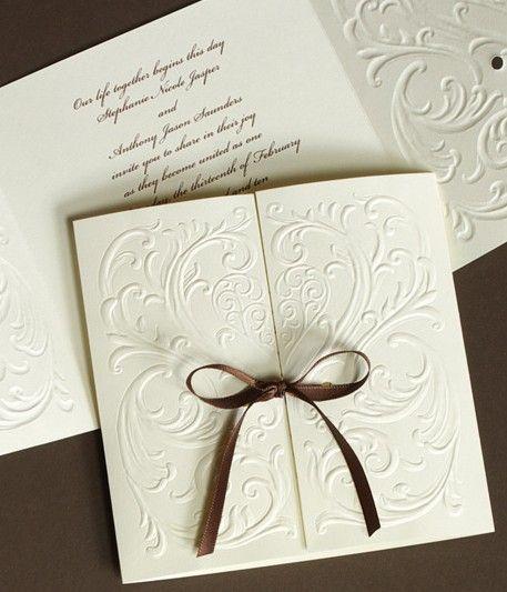 Mariage - Perfect Modern Wedding Invitations Ideas