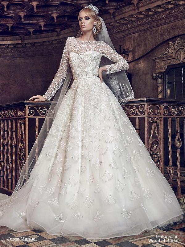 Jorge Manuel 2016 Wedding Dresses 2562522 Weddbook