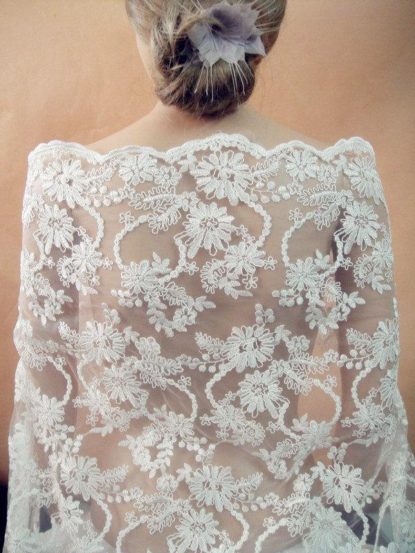 Sale-Lace Fabric, Wedding Lace Fabric, Embroidery Bridal Lace ...